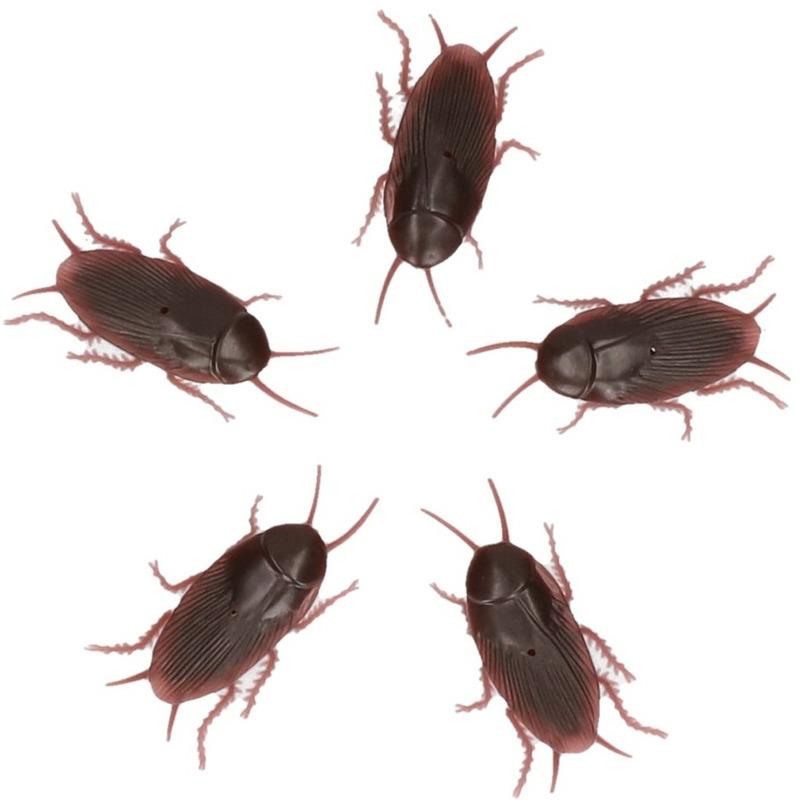 Fopartikelen Nep kakkerlakken 5 stuks