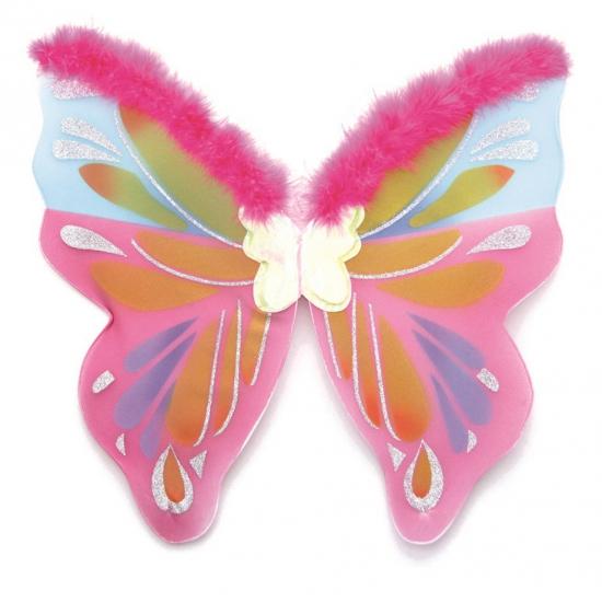 Afbeelding Gekleurde vlinder vleugels door Animals Giftshop