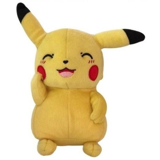 Gele Pikachu Pokemon knuffels 20 cm