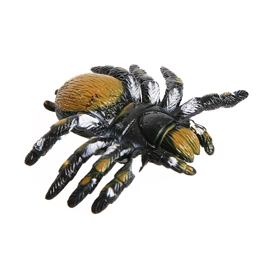Gele speelgoed spin 10 cm