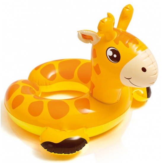 Giraffe zwemring