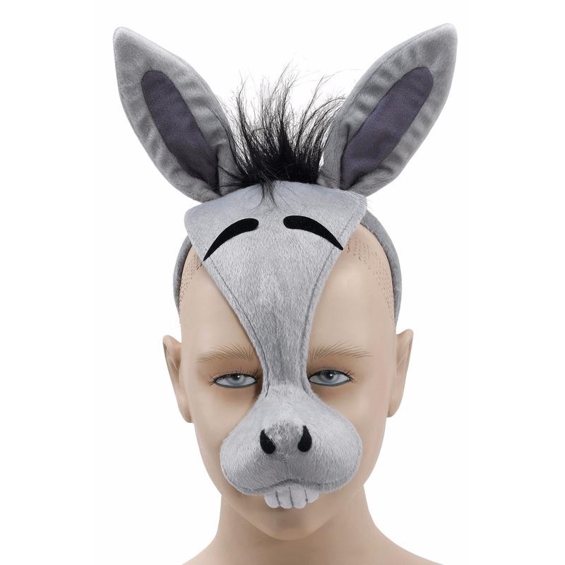 Grijze ezel masker
