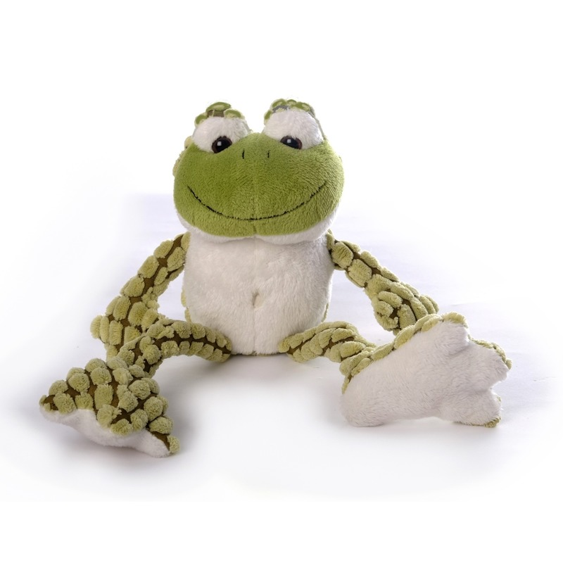 Groene kikkers knuffels 22 cm knuffeldieren