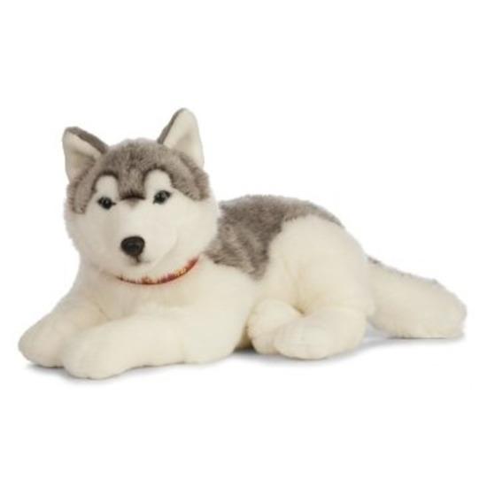 Grote honden knuffels Husky 60 cm knuffeldieren
