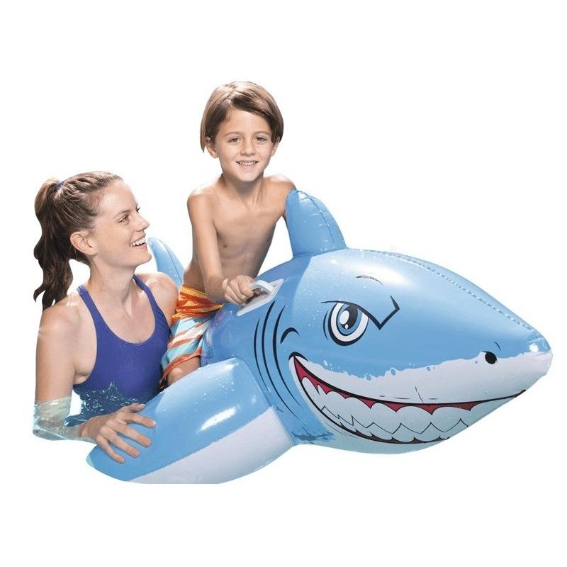 Grote opblaasbare haai 1.83m x 1.02m