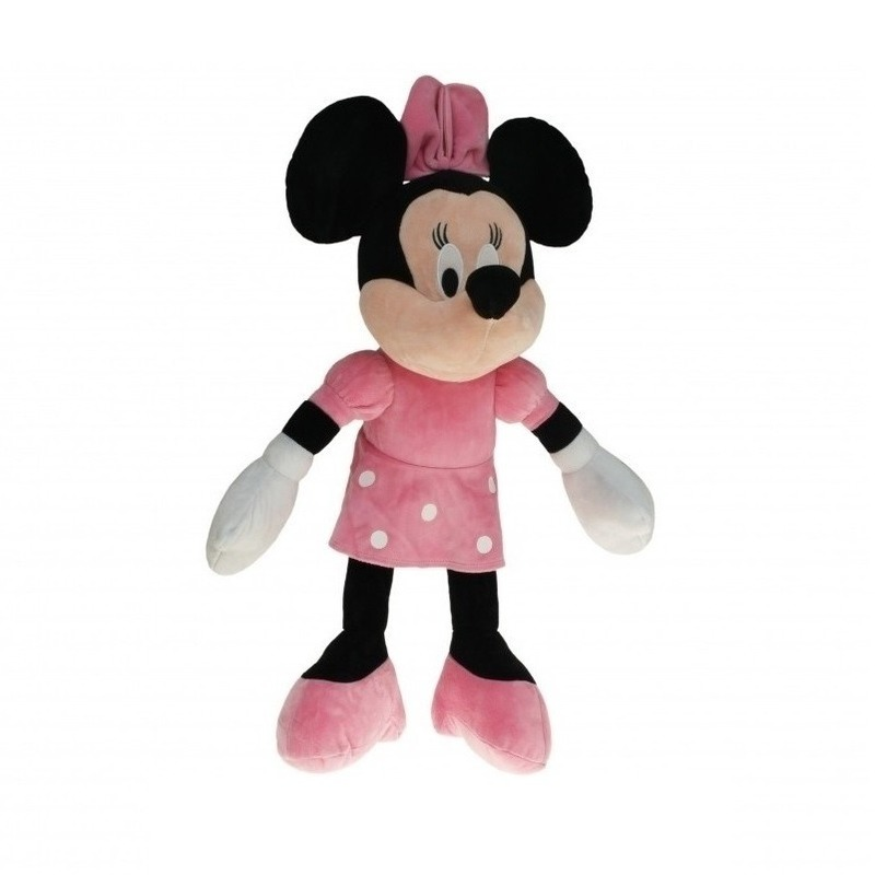 Grote Pluche Minnie Mouse knuffel 50 cm
