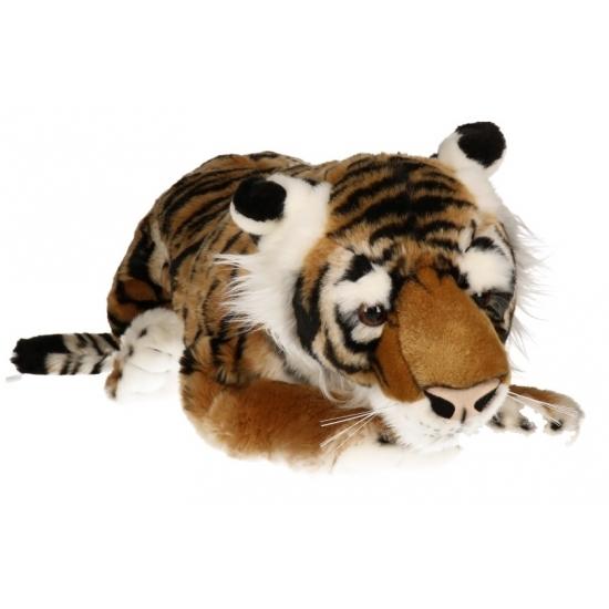 Grote tijger knuffels 66 cm
