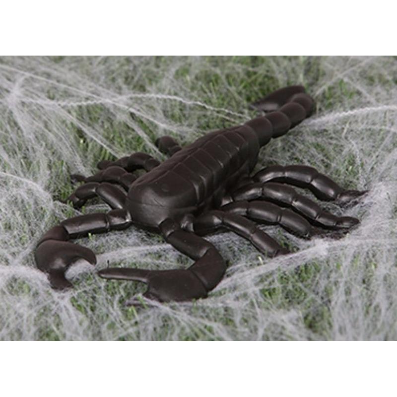 Afbeelding Halloween decoratie schorpioen 20 cm door Animals Giftshop