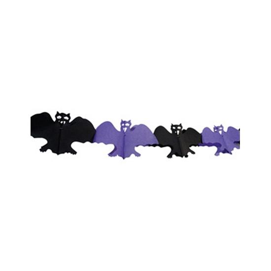 Afbeelding Halloween vleermuizen slinger 4 m door Animals Giftshop