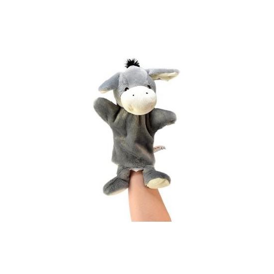 Handpop ezeltje 21 cm