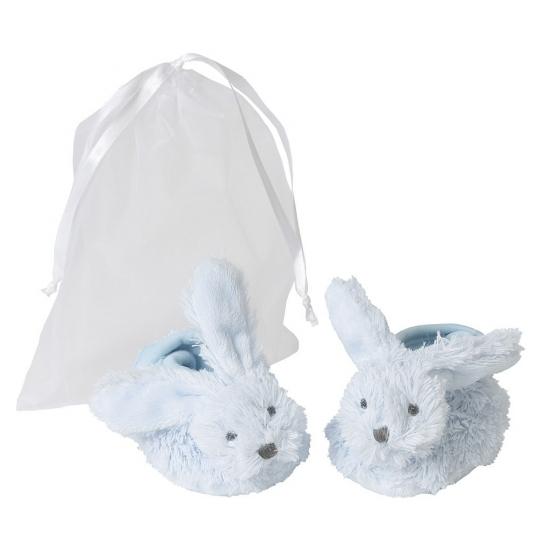 Happy Horse baby kado slofjes blauw