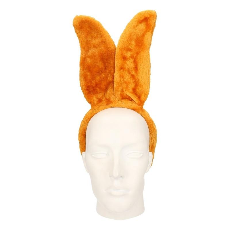 Hazen/konijnen oren lichtbruin