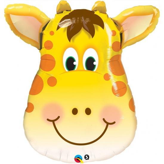 Helium folie ballon giraffe 81 cm