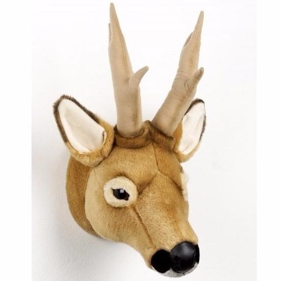 Hertenkop/Ree hoofd pluche