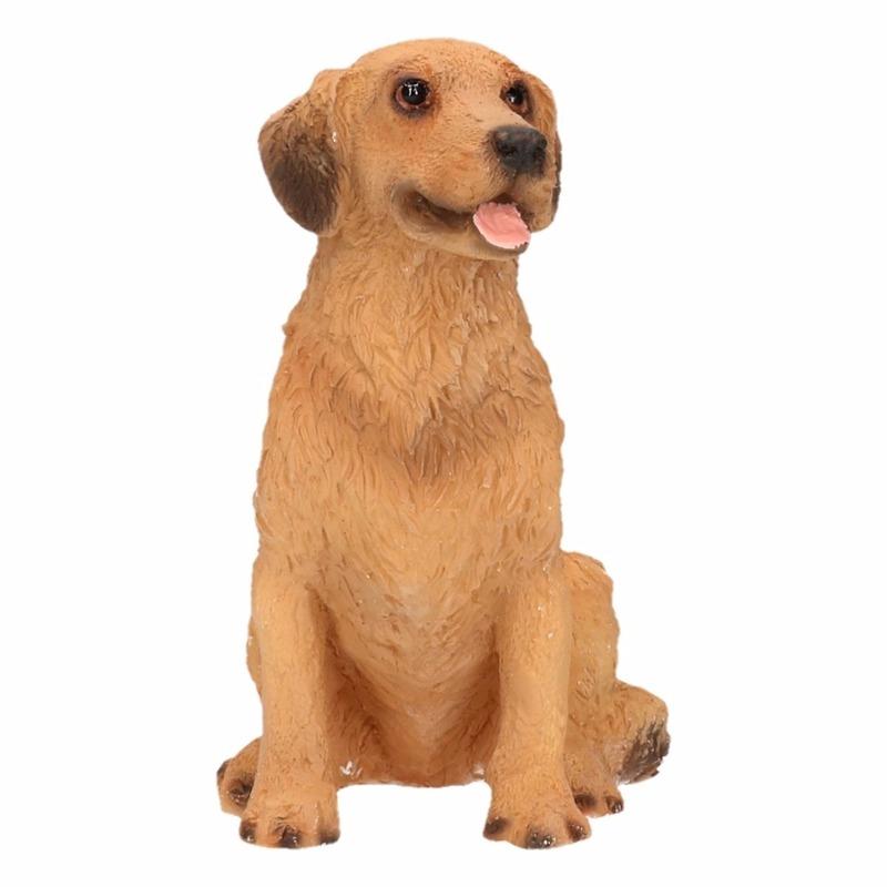 Honden beeldje Golden Retriever 11 cm