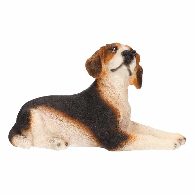 Honden beeldjeBeagle hond 13 cm