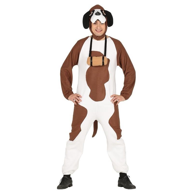 Honden kostuum st Bernard voor volwassenen