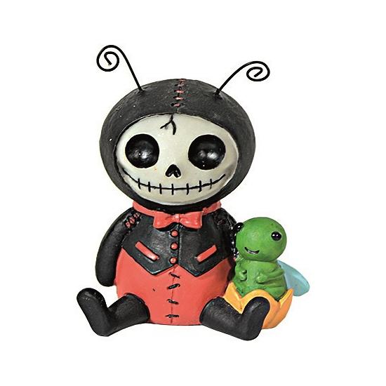 Horror decoratie beeldje Lieveheersbeest