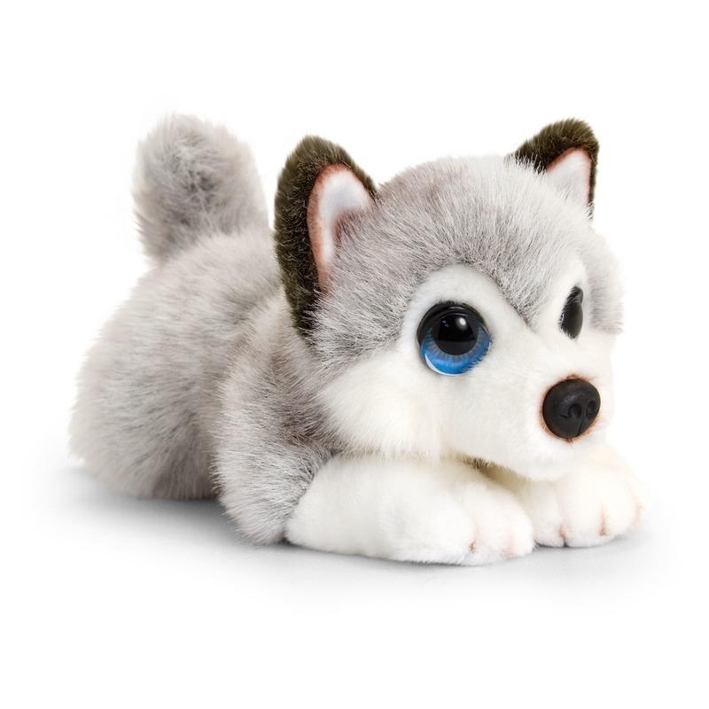Husky honden knuffeldier 25 cm
