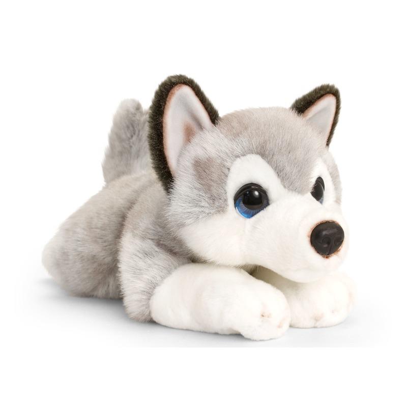 Husky honden knuffeldier 37 cm