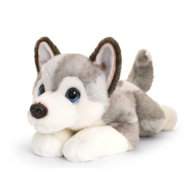 Husky honden knuffeldier groot 47 cm