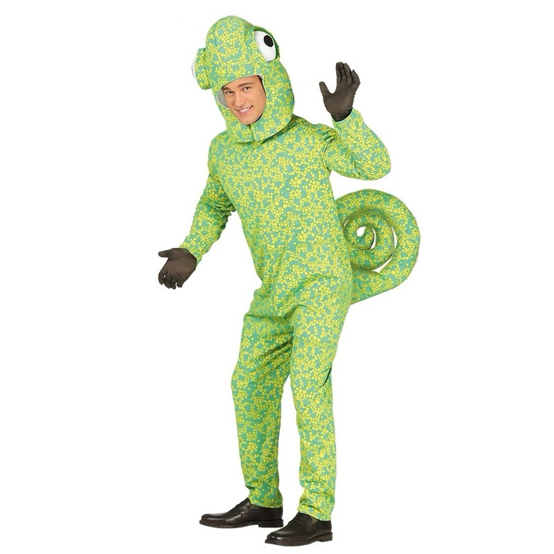Kameleon verkleedkleding voor volwassenen