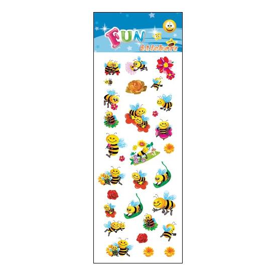 Kinder bijen stickers