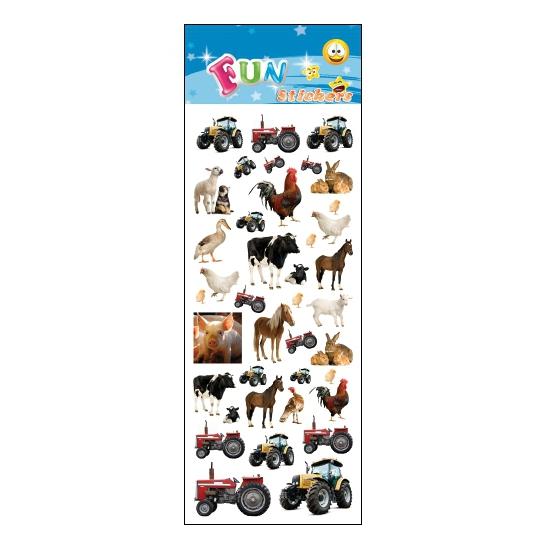 Kinder boerderij stickers