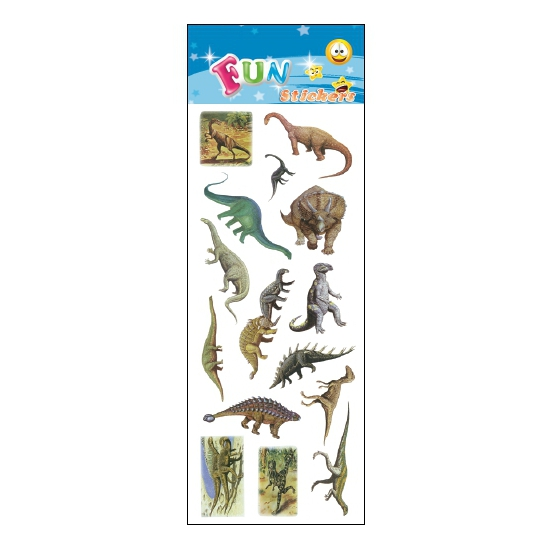 Kinder dino stickers