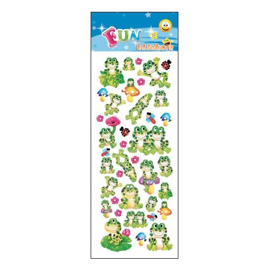 Kinder kikkers stickers