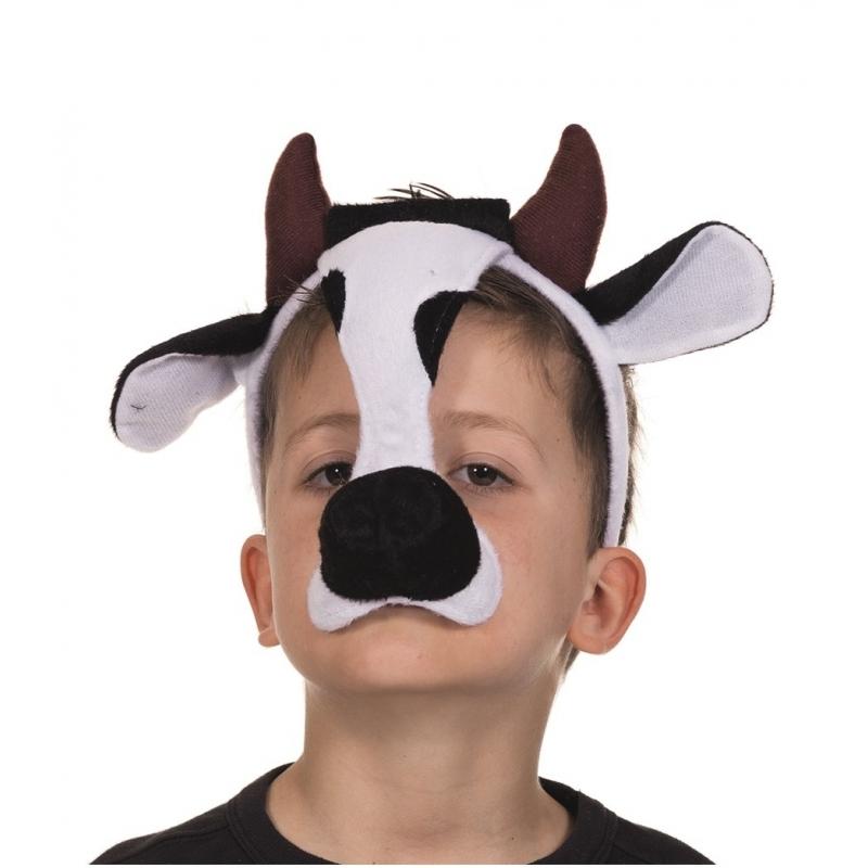Kinder koeien masker met geluid