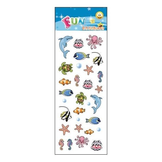 Kinder oceaan dieren stickers