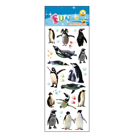 Afbeelding Kinder pinguins stickers door Animals Giftshop