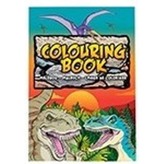 Kinderspeelgoed dinosaurussen thema kleurplaten A4 formaat kleurboeken/tekenboeken