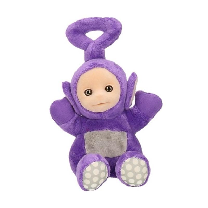 Kleine teletubbies knuffel Tinky 18 cm