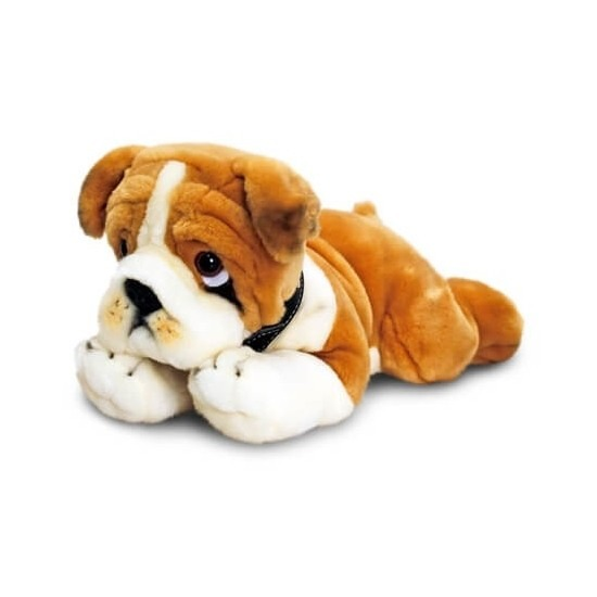 Knuffel bulldog puppy 35 cm