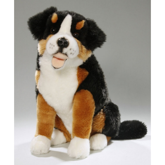Knuffel hond Berner Sennen 37 cm