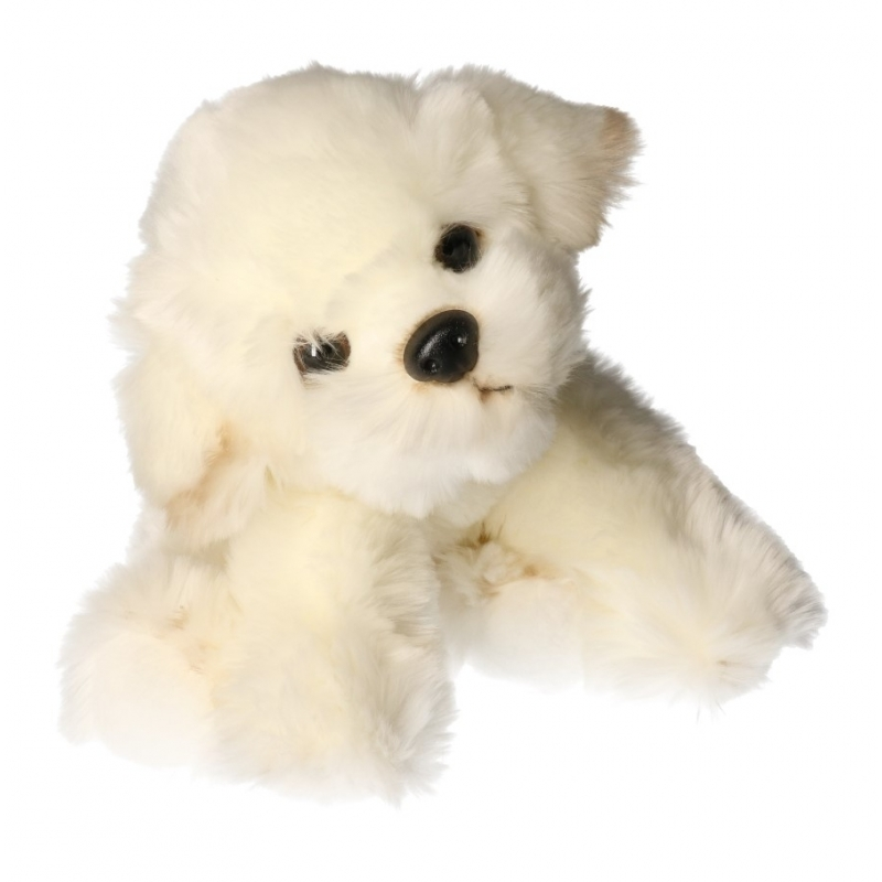 Knuffel hond Bison Frise 24 cm