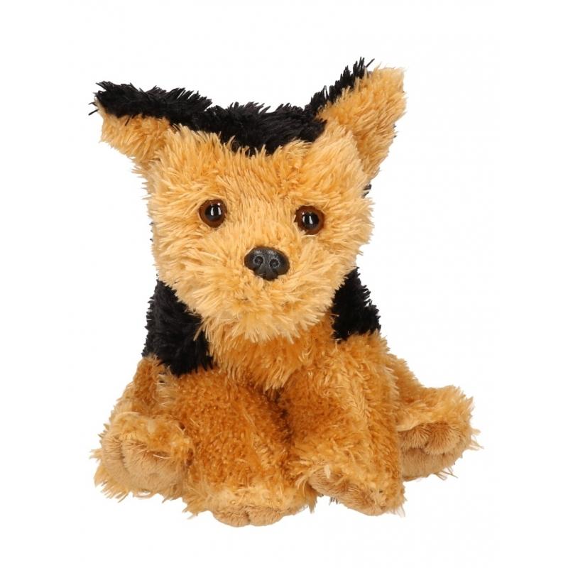 Knuffel hond fox terrier 15 cm