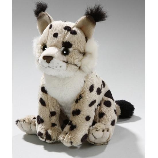 Knuffel lynx 16 cm speelgoed dier