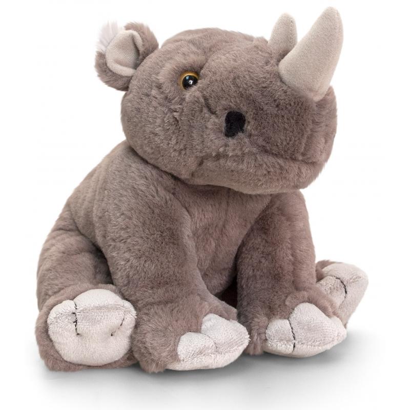 Afbeelding Knuffel neushoorn 25 cm door Animals Giftshop