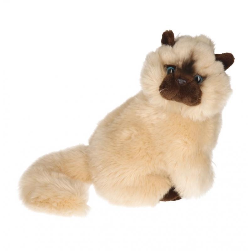Knuffel Perzische kat van 30 cm
