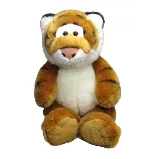 Knuffel tijgers zittend 33 cm