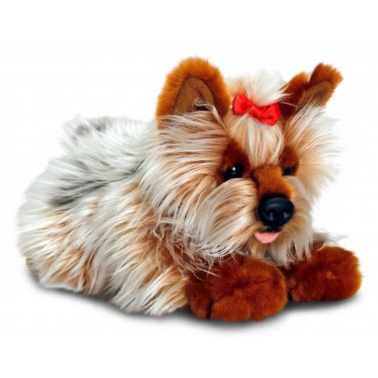 Knuffel yorkie hondje 35 cm
