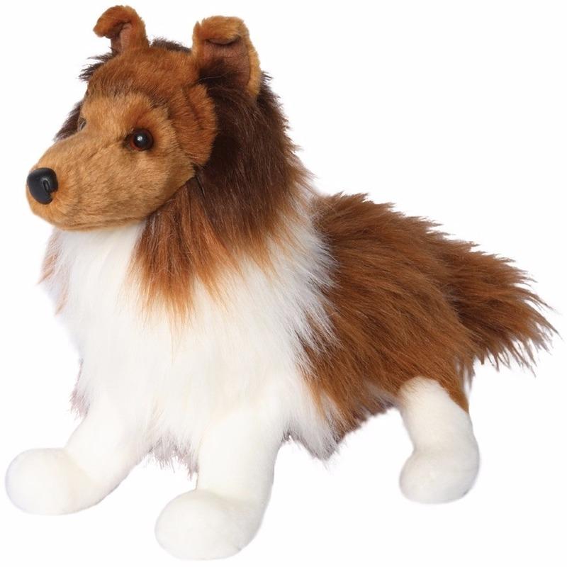 Knuffeldier hond Sheltie 41 cm