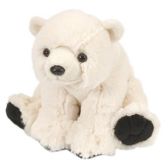 Knuffeldier ijsbeer 20 cm