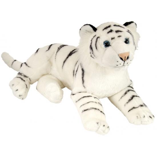 Knuffeldier witte tijger 30 cm