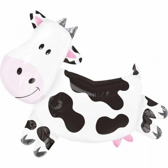 Koeien folie ballon 90 cm