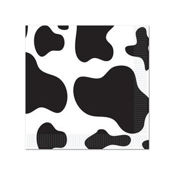 Koeien servetten 16 stuks