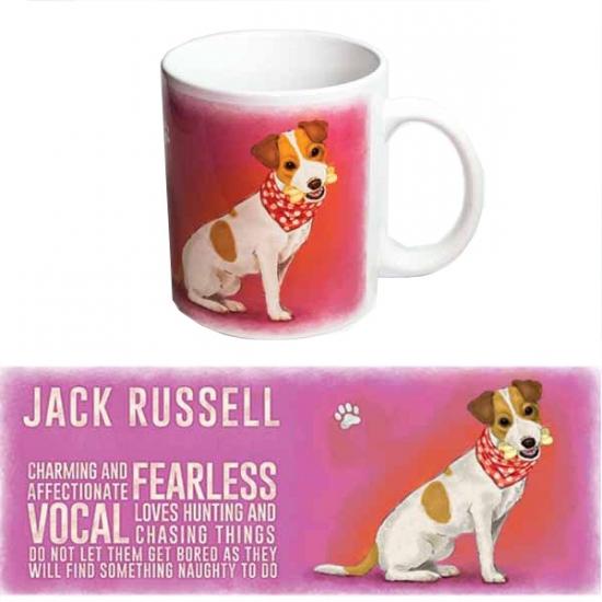 Koffie beker Jack Russell hondje